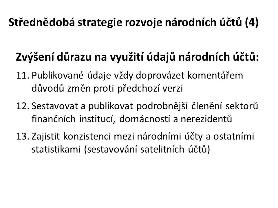 Střednědobá strategie rozvoje národních účtů (4)