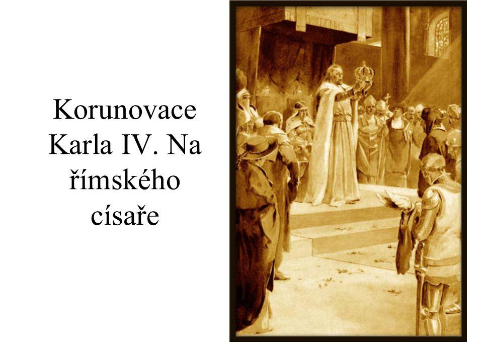 Korunovace Karla IV. Na římského císaře