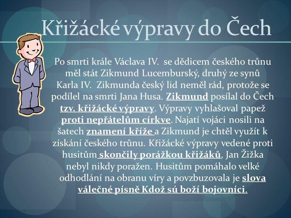 Křižácké výpravy do Čech