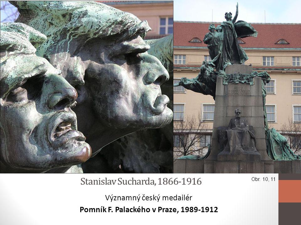 Pomník F. Palackého v Praze, 1989-1912