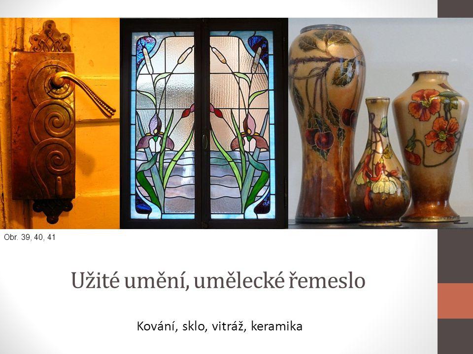 Užité umění, umělecké řemeslo