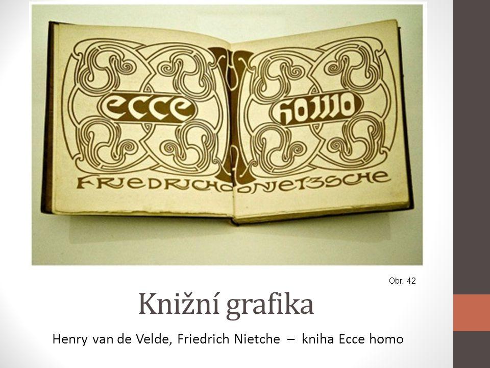 Henry van de Velde, Friedrich Nietche – kniha Ecce homo