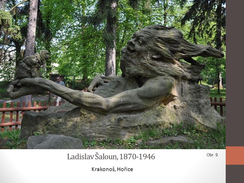 Ladislav Šaloun, 1870-1946 Obr. 9 Krakonoš, Hořice