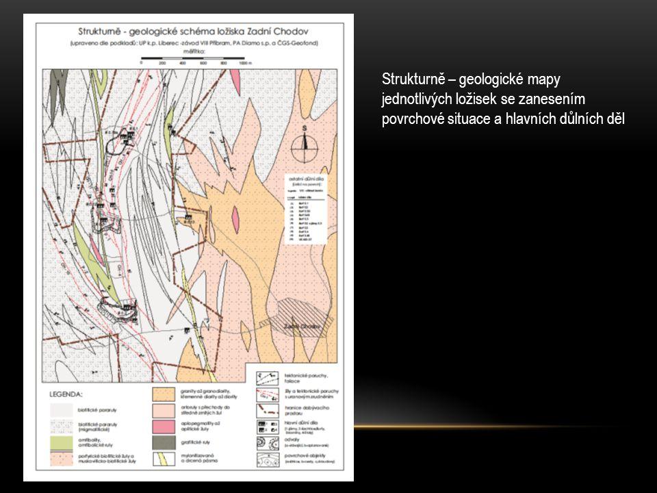 Strukturně – geologické mapy