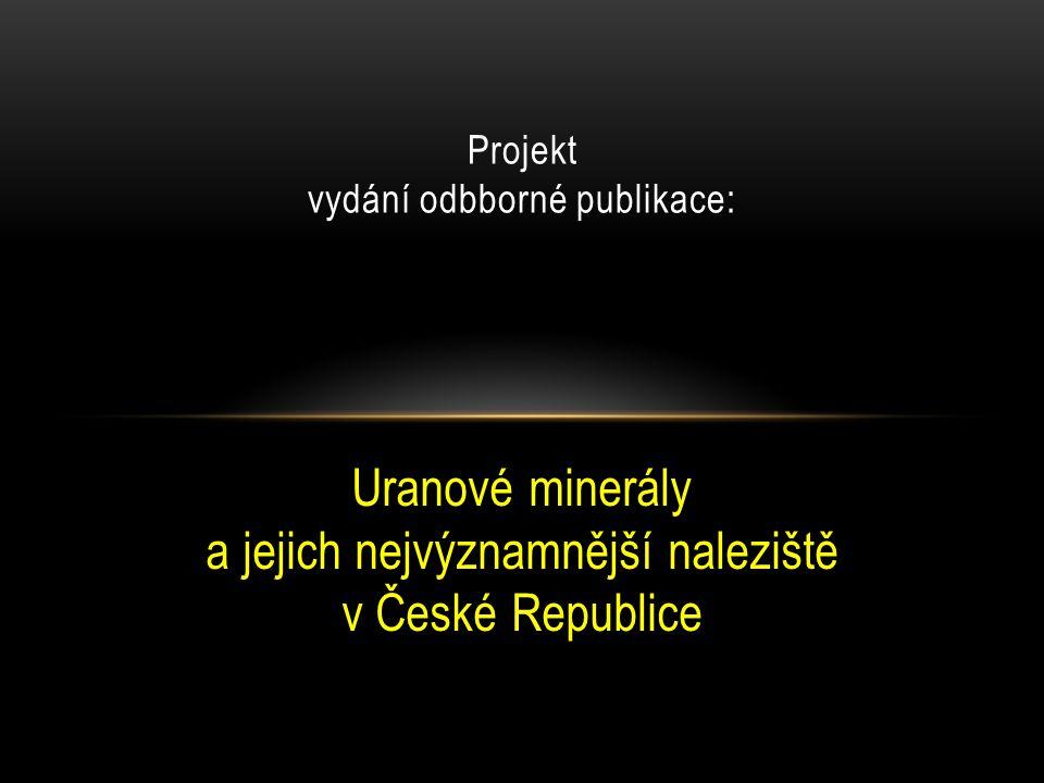 Projekt vydání odbborné publikace: