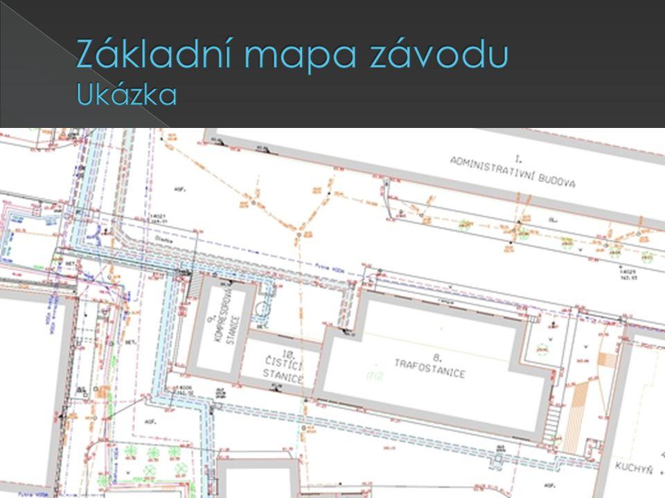 Základní mapa závodu Ukázka