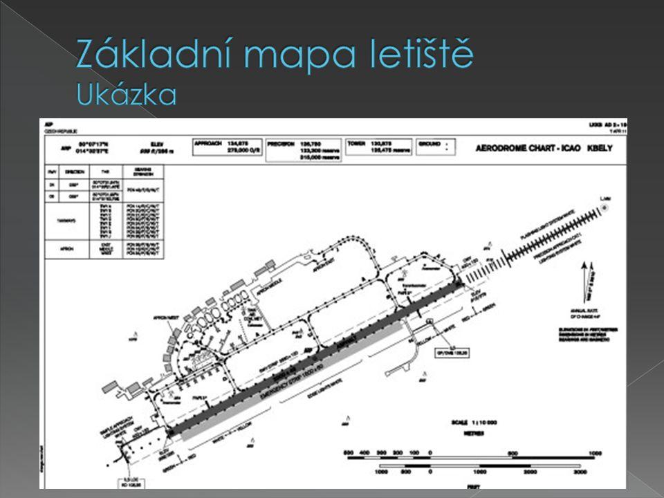 Základní mapa letiště Ukázka