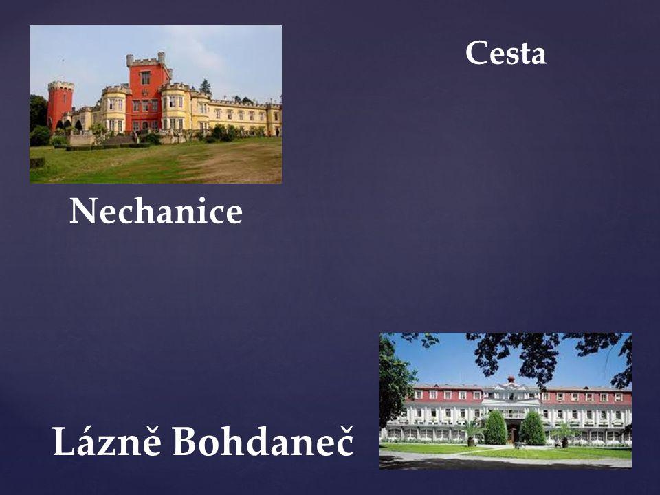 Cesta Nechanice Lázně Bohdaneč
