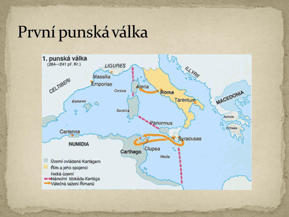 První punská válka