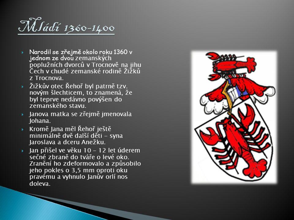 Mládí 1360-1400