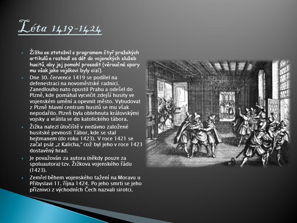 Léta 1419-1424
