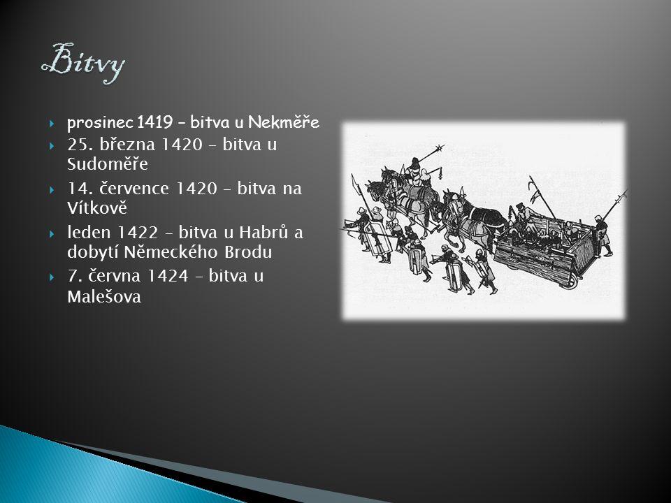 Bitvy prosinec 1419 – bitva u Nekměře