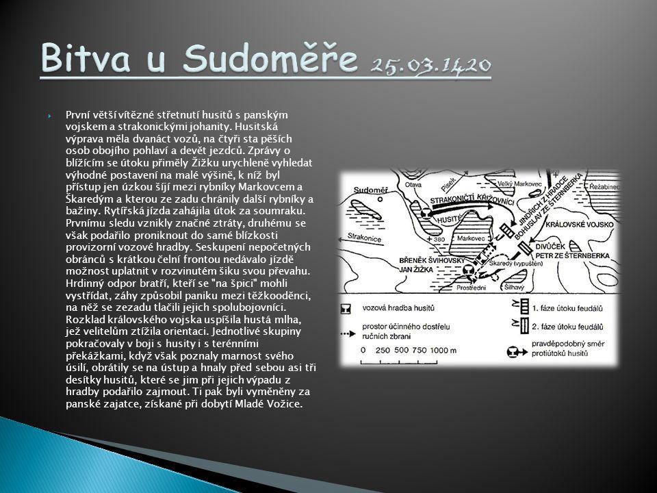 Bitva u Sudoměře 25.03.1420