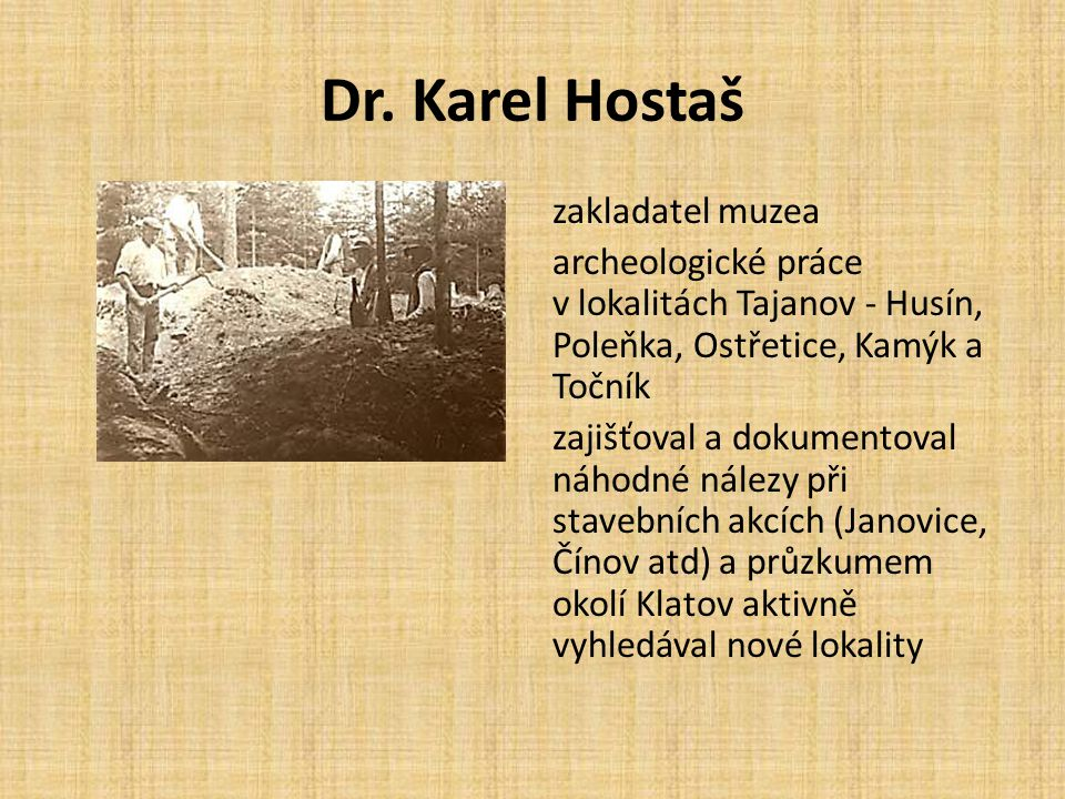 Dr. Karel Hostaš