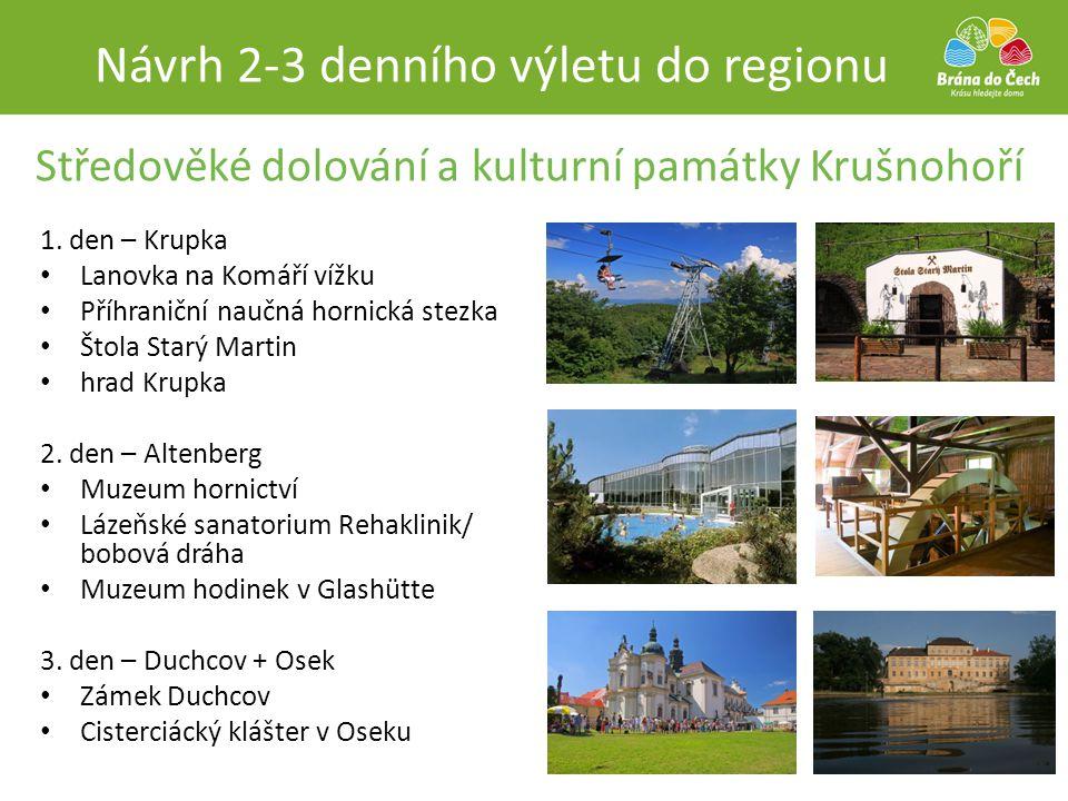 Středověké dolování a kulturní památky Krušnohoří
