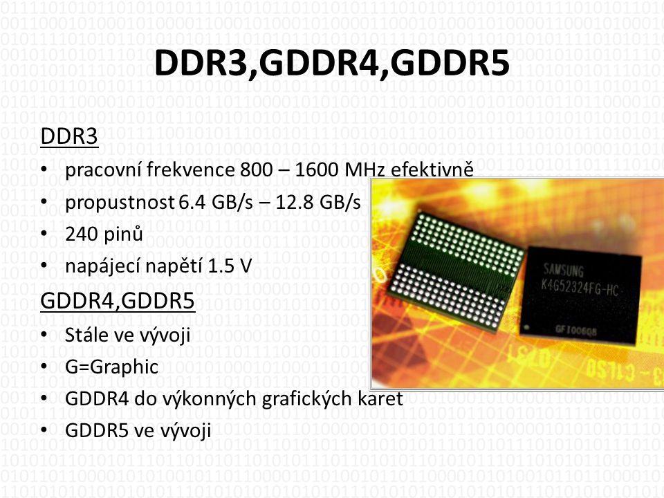 DDR3,GDDR4,GDDR5 DDR3 GDDR4,GDDR5