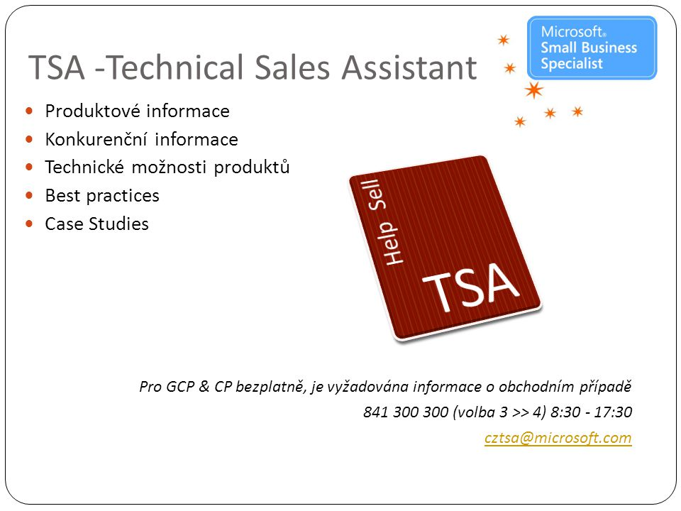 TSA -Technical Sales Assistant