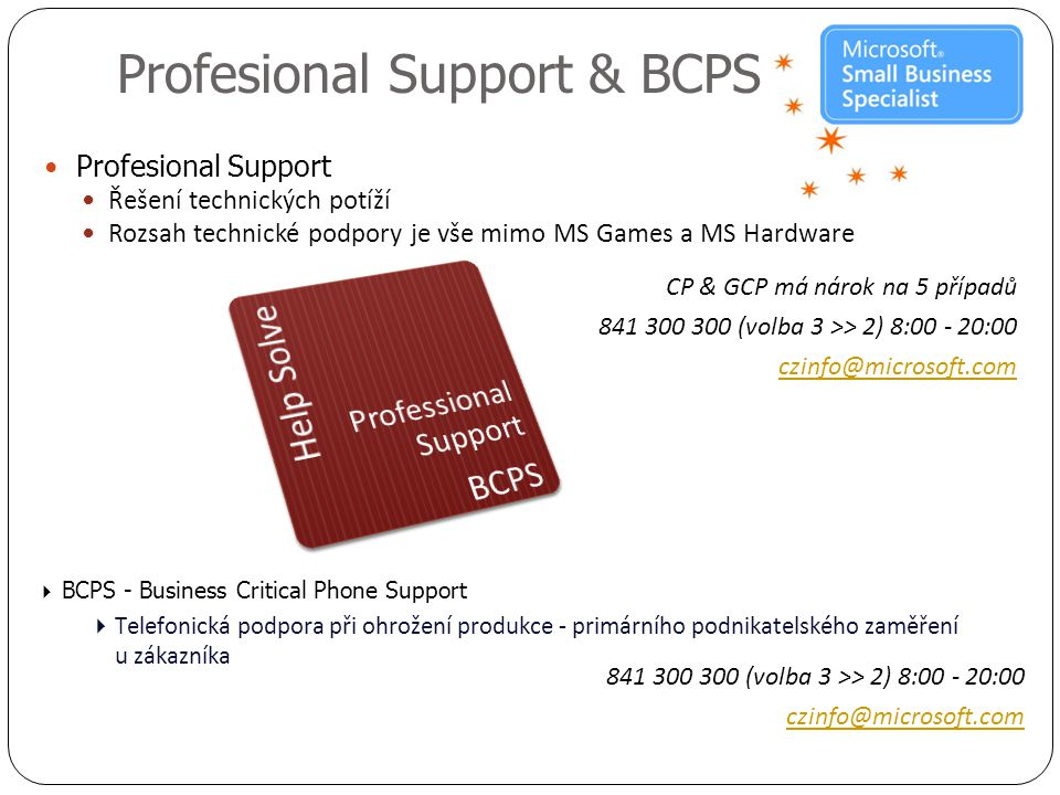 Profesional Support & BCPS