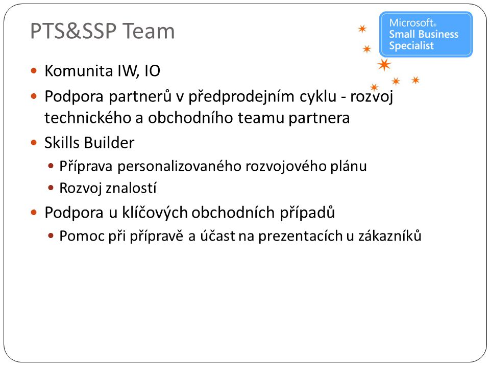 PTS&SSP Team Komunita IW, IO