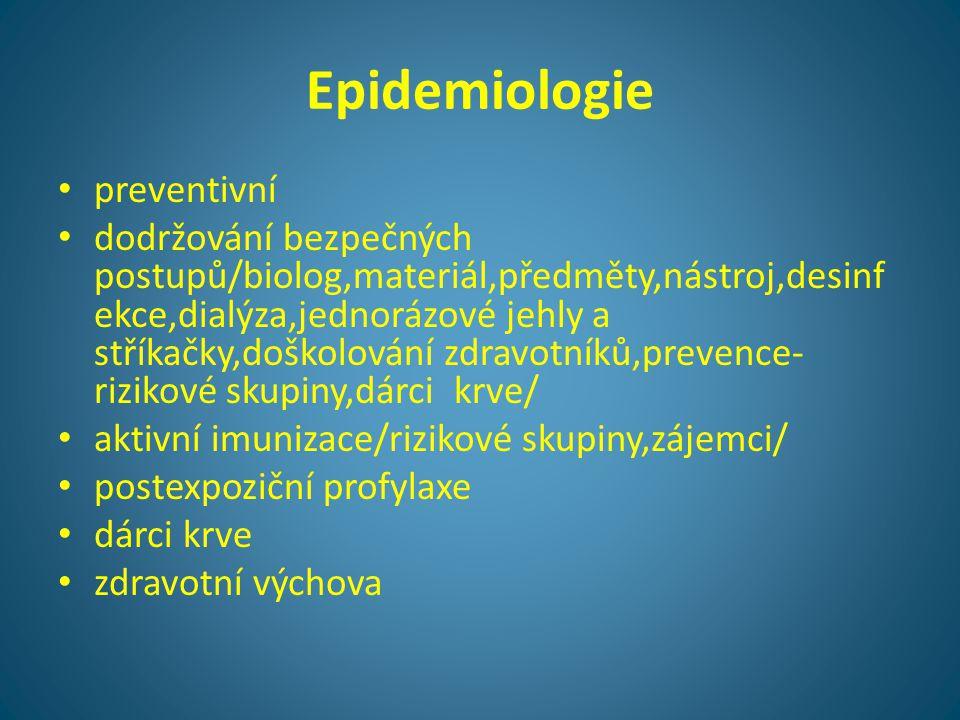 Epidemiologie preventivní
