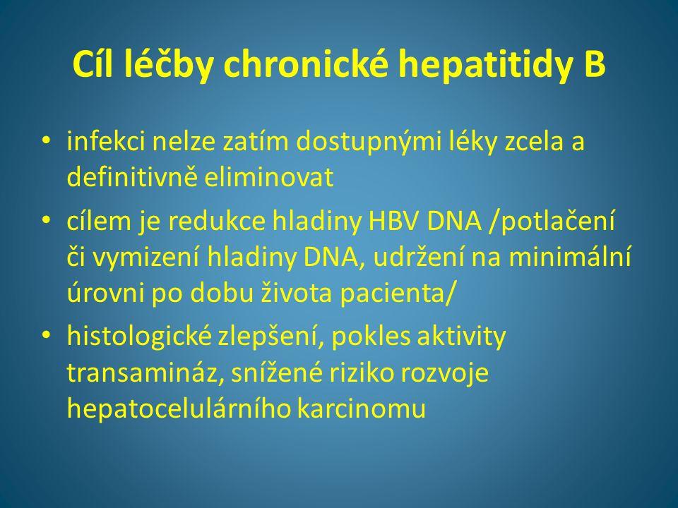 Cíl léčby chronické hepatitidy B