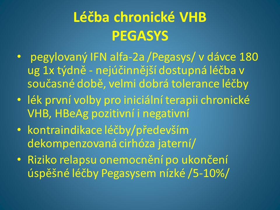 Léčba chronické VHB PEGASYS