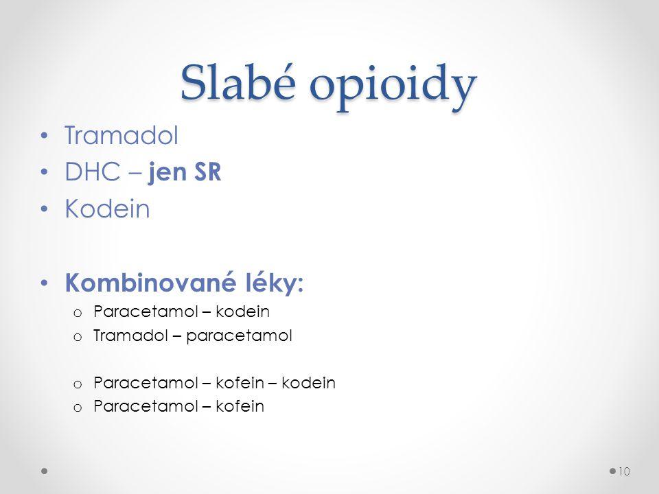 Silné opioidy SR – perorální