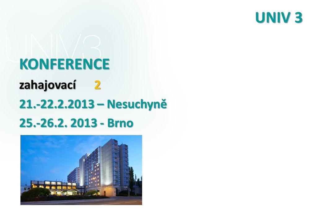 UNIV 3 KONFERENCE zahajovací 2 21.-22.2.2013 – Nesuchyně