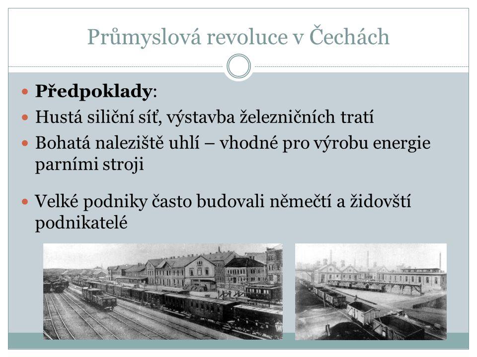 Průmyslová revoluce v Čechách