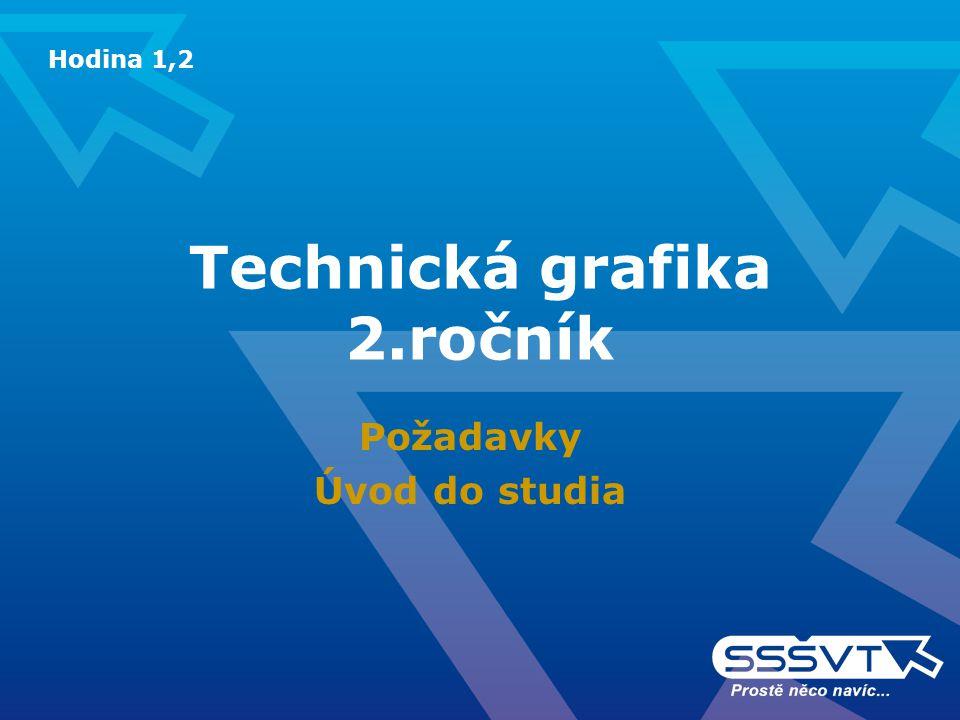 Technická grafika 2.ročník