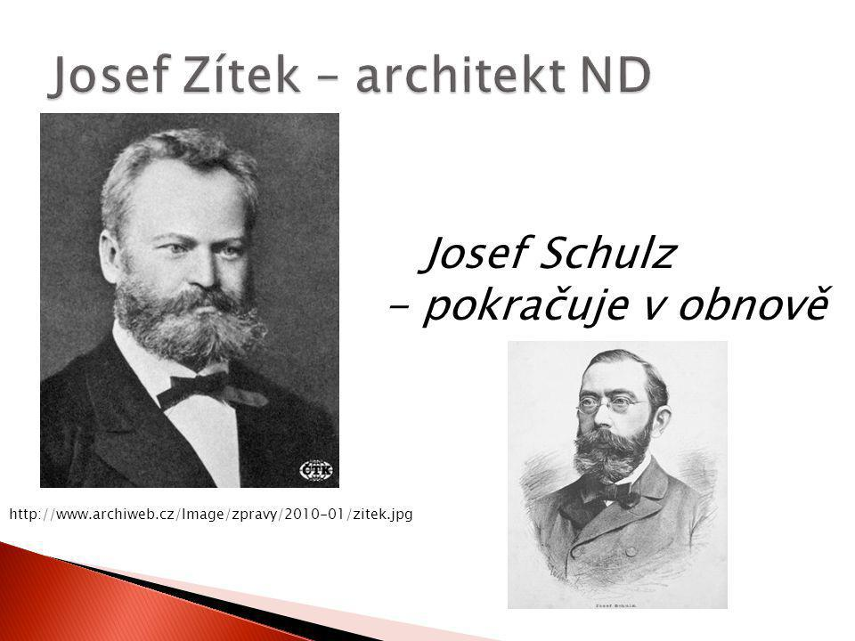 Josef Zítek – architekt ND