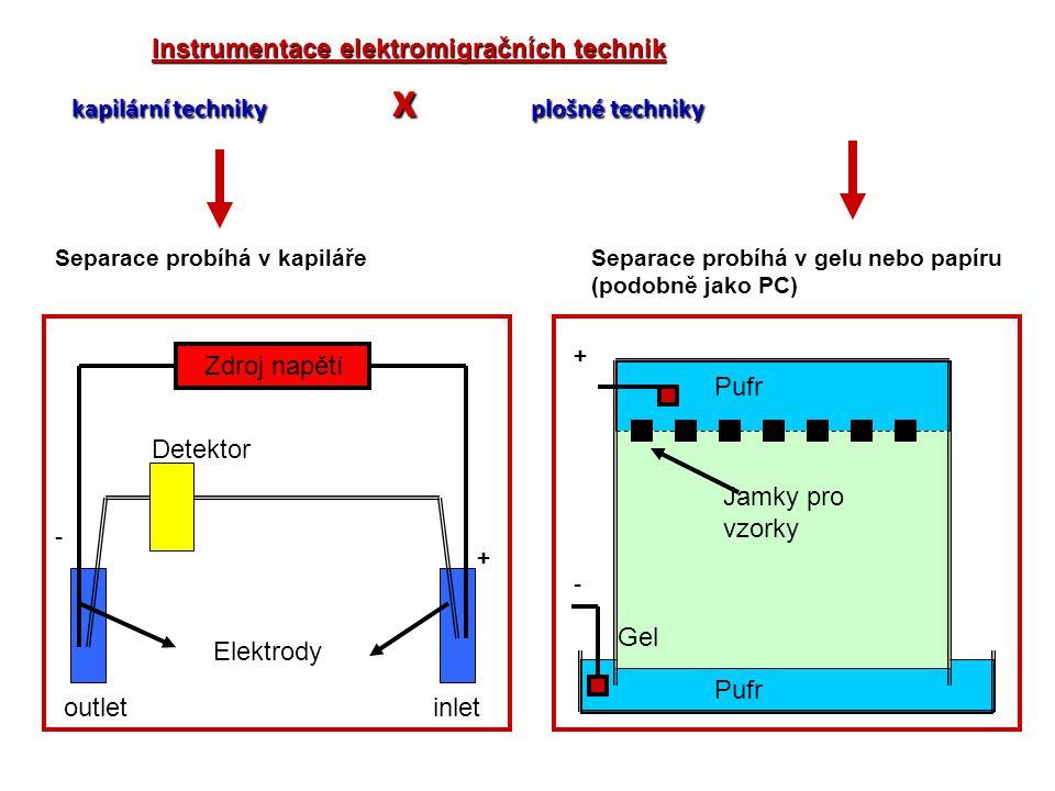 Instrumentace elektromigračních technik