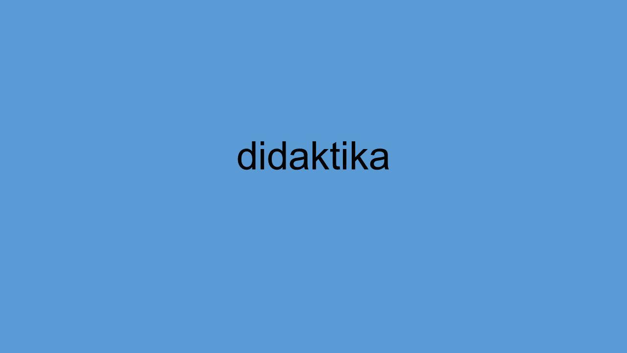didaktika