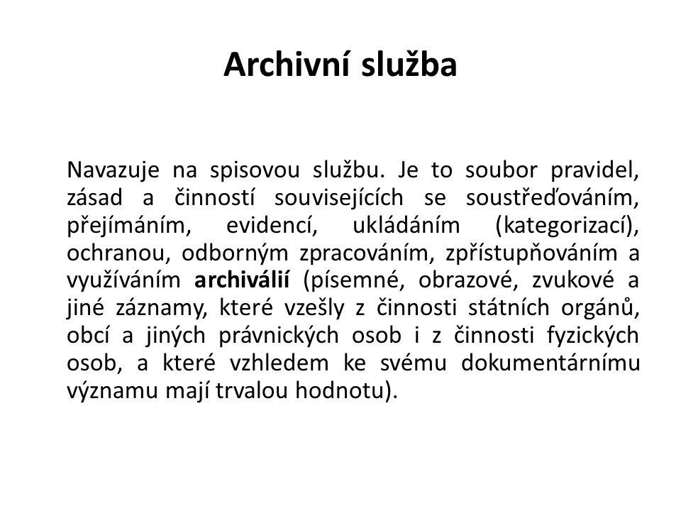 Archivní služba