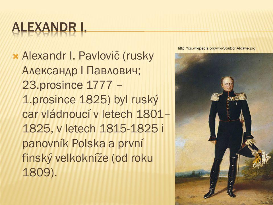 ALEXANDR I. http://cs.wikipedia.org/wiki/Soubor:Aldawe.jpg.
