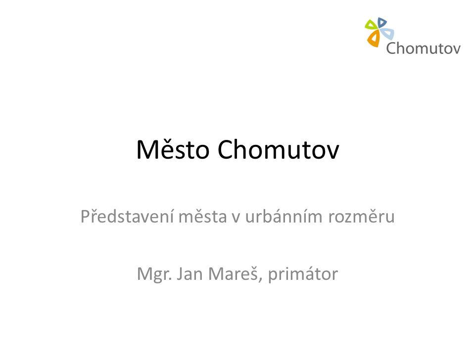 Představení města v urbánním rozměru Mgr. Jan Mareš, primátor