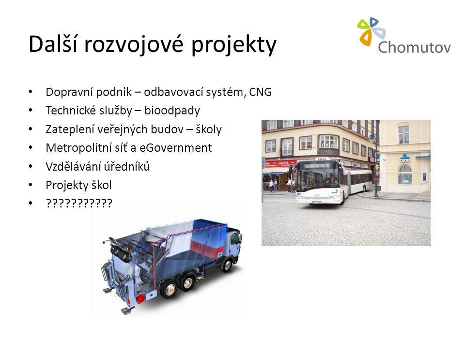 Další rozvojové projekty