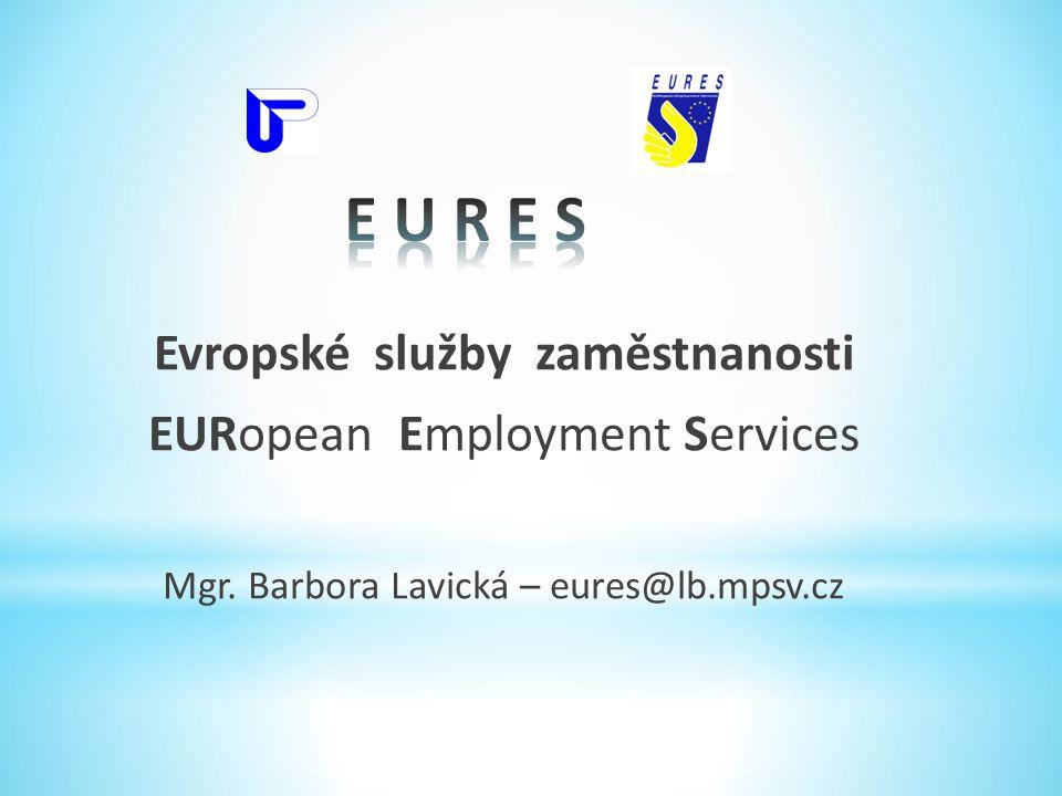 Evropské služby zaměstnanosti