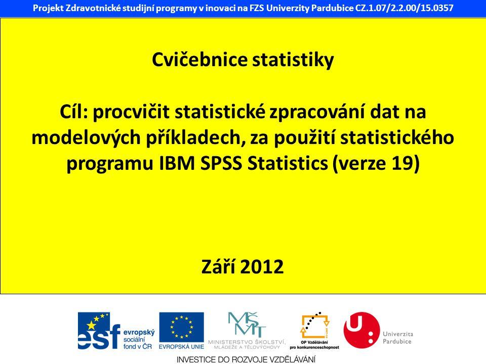 Cvičebnice statistiky