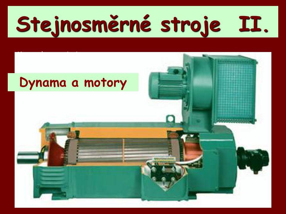 Stejnosměrné stroje II.