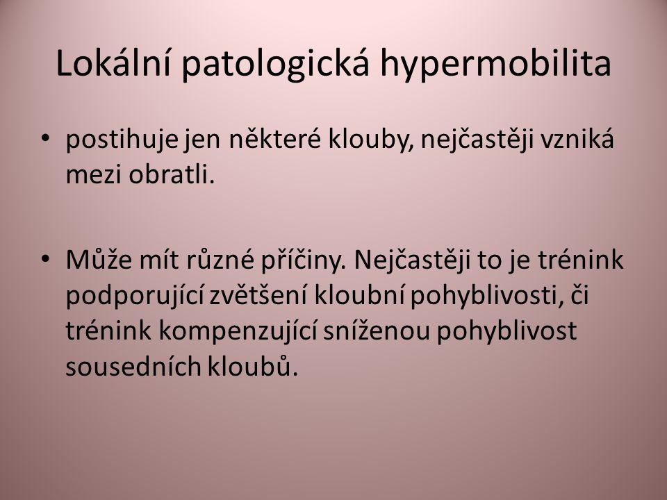 Lokální patologická hypermobilita