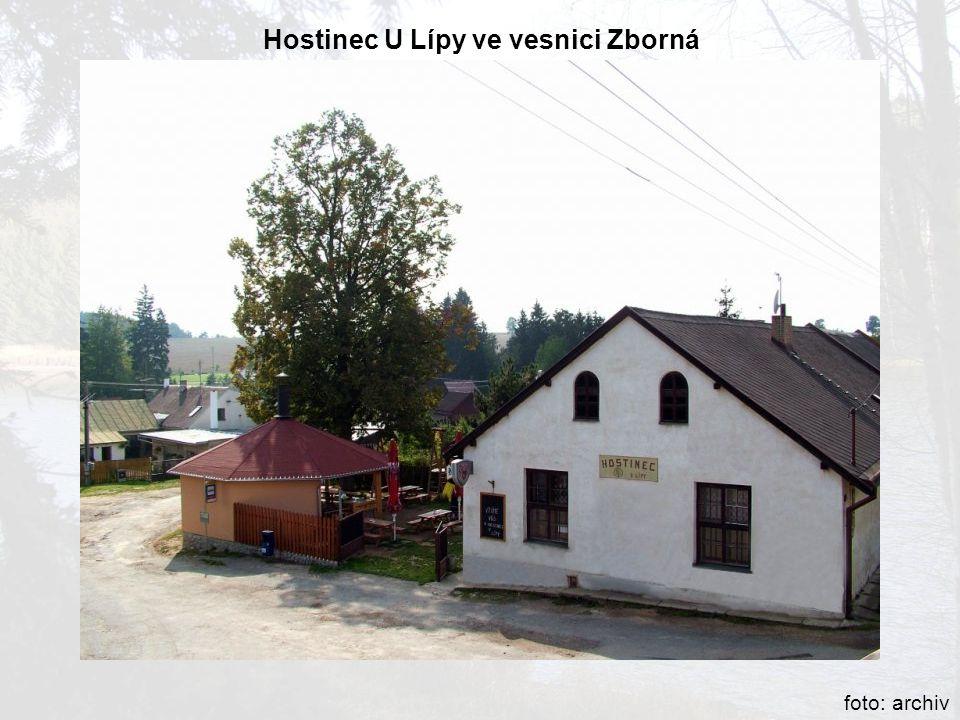 Hostinec U Lípy ve vesnici Zborná