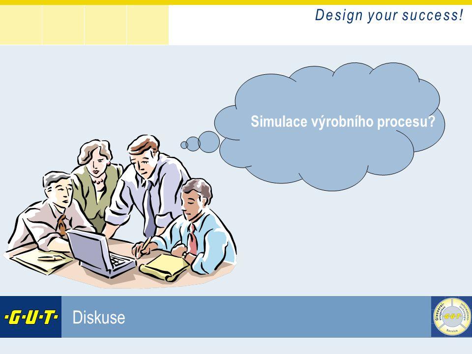 Simulace výrobního procesu