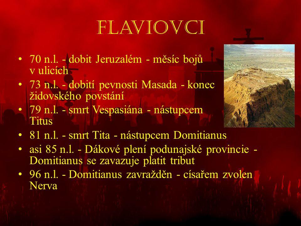 Flaviovci 70 n.l. - dobit Jeruzalém - měsíc bojů v ulicích