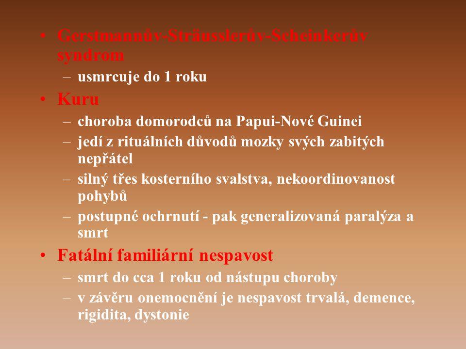 Gerstmannův-Sträusslerův-Scheinkerův syndrom