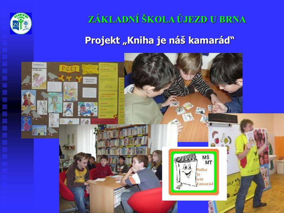 """Projekt """"Kniha je náš kamarád"""