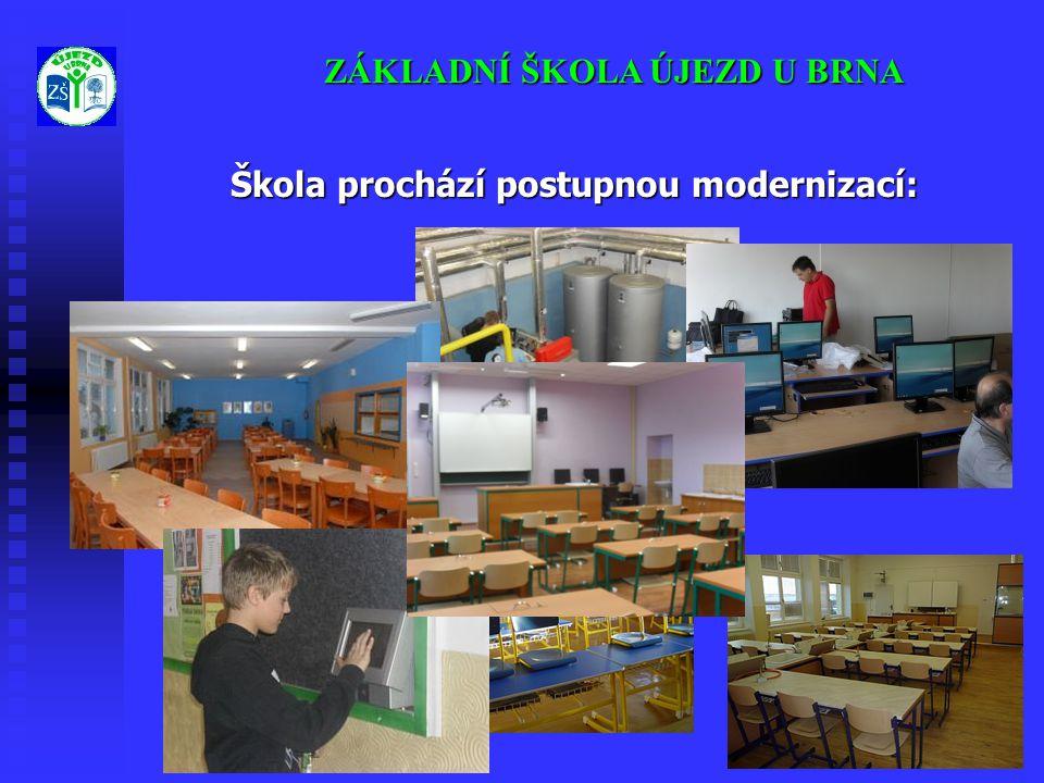 Škola prochází postupnou modernizací: