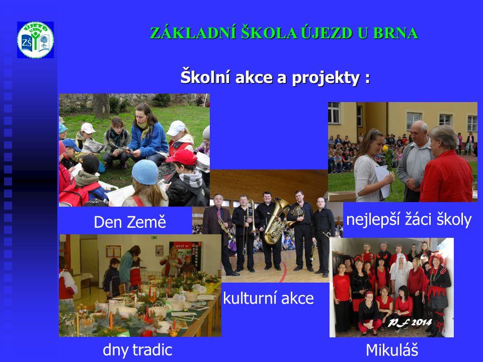Školní akce a projekty :