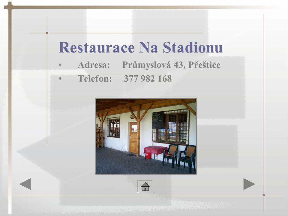 Restaurace Na Stadionu