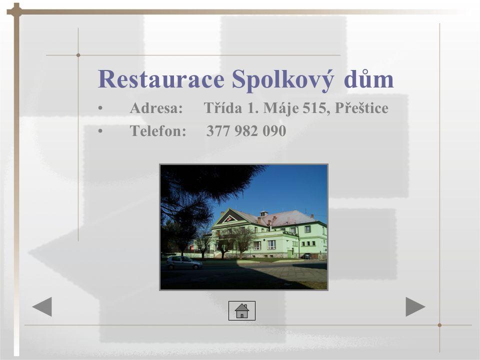 Restaurace Spolkový dům